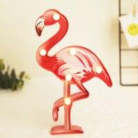 14x23 см светодиодный ночник настольная лампа Фламинго моделирование настольные ночные светильники для домашнего офиса украшения подарки
