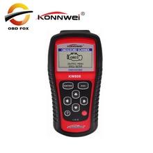 KONNWEI KW808 OBD2เครื่องสแกนเนอร์รถ KW 808รหัสวินิจฉัย CAN เครื่องยนต์รีเซ็ตเครื่องมือ Ms509เครื่องสแกนเนอร์อัตโนมัติครอบคลุมจัดส่งฟรี