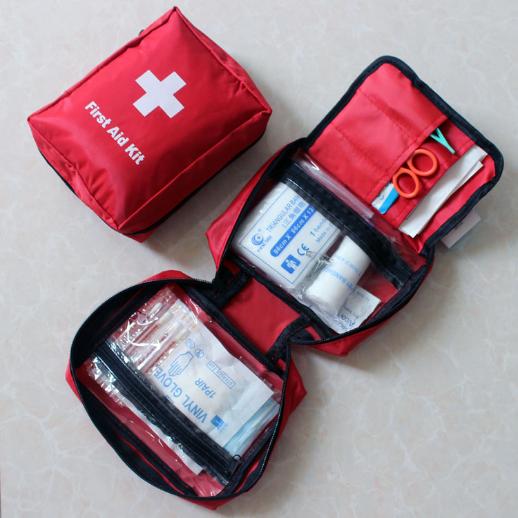 14 Pcs Outdoor Products Portable Medical Kits Medicine Bag Car Travel First Aid Kit In Emergency From Security Protection On Aliexpress