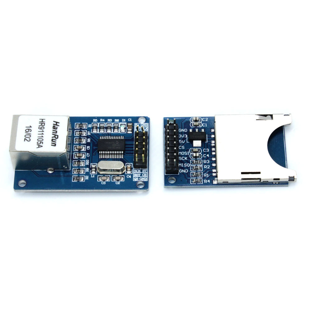 ENC28J60 Ethernet LAN Network Module Schema Voor Arduino 51 AVR LPC ...
