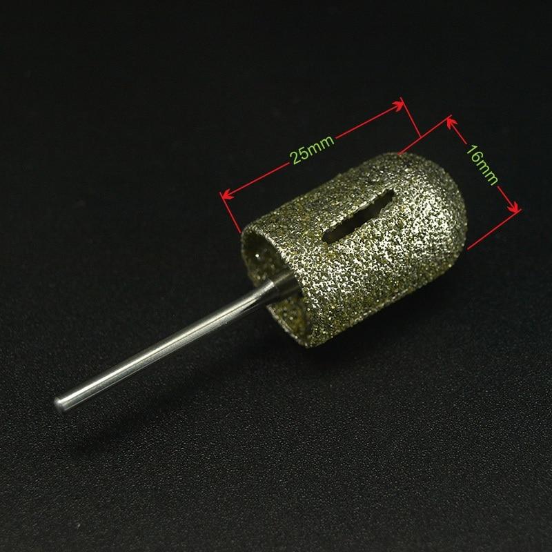 16 * 25mm 2018 Pro. 1pcs kasar penggilap tradisional manicure pedikur - Seni kuku - Foto 2