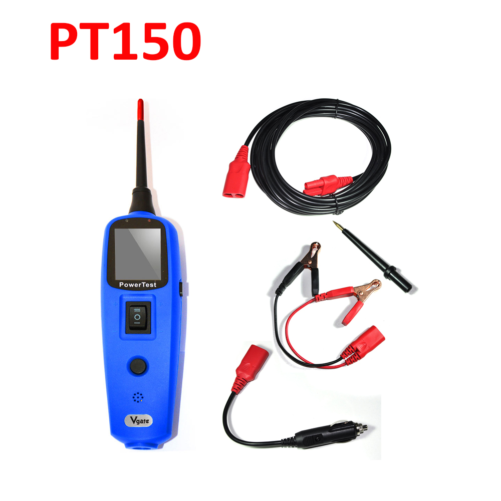 Car Electric Circuit Tester Tool Vgate Powerscan Powertest Pt150 Electrical Power Probe System