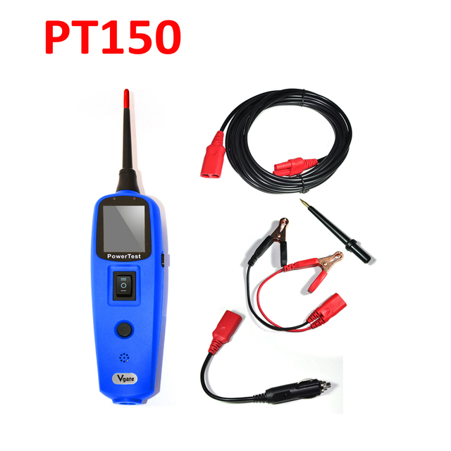 car electric circuit tester tool vgate powerscan powertest pt150