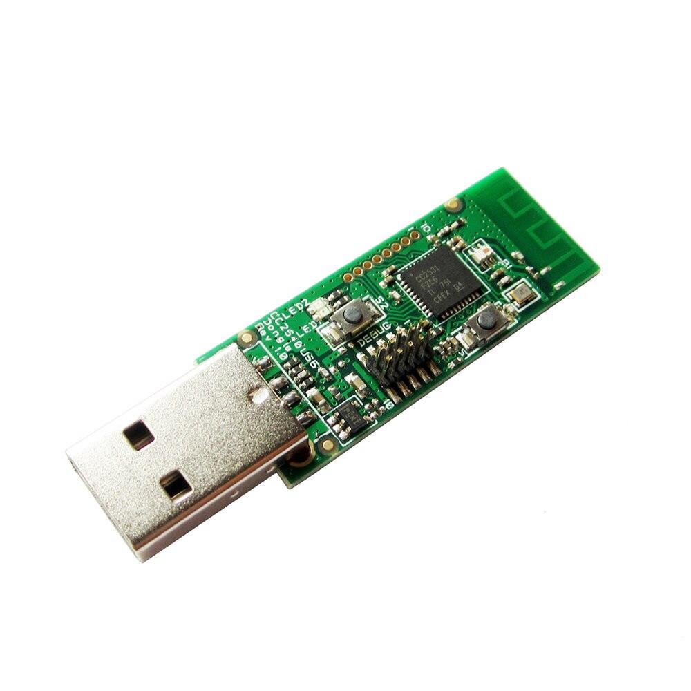 Inalámbrico CC2531 sniffer desnuda paquete analizador módulo interfaz USB dongle captura paquete