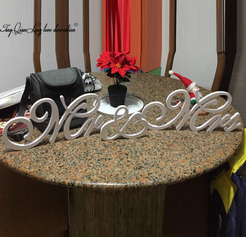 White Mr. & Mrs letters Mr &Mrs set wedding decor Mr and Mrs head sign for wedding. Photo Prop. Wedding signage ...