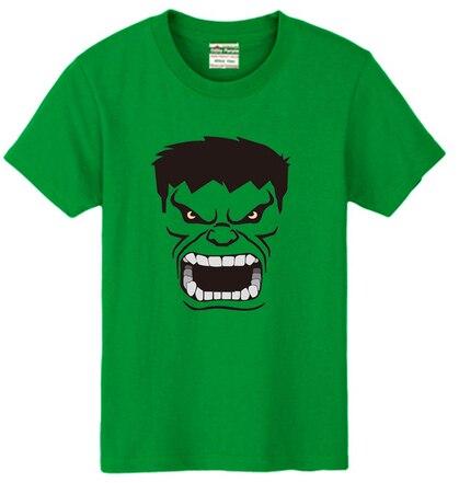2e7fa455f0 Sexemara the avengers hulk logo imprimir camiseta 100% algodão  personalizadas costume de manga curta men