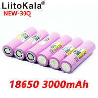 Image 4 - 8PCS Neue LiitoKala 100% original INR 18650 batterie 3,7 V 3000mAh INR18650 30Q li ion Akkus