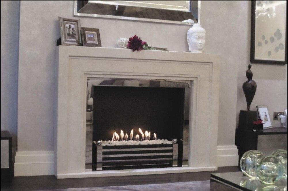 Inno Living Fire 48 Inch Indoor Outdoor Ethanol Burner Bio Fireplace