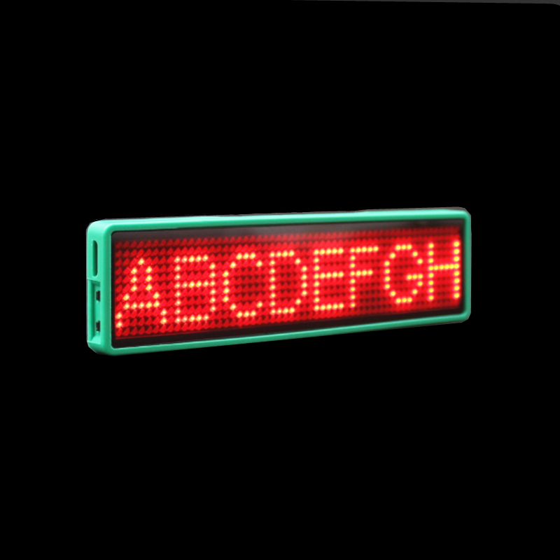 Bluetooth Led Name Tag Led Name Badge Scrolling Led