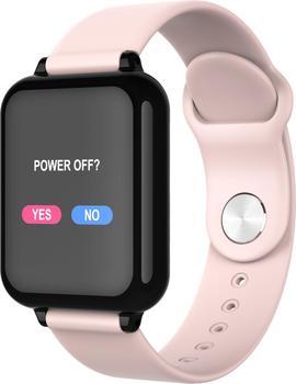 B57 inteligentny zegarek wodoodporny pulsometr ciśnienie krwi sport kobiety smartwatch kobiety poręczny zegarek mężczyźni inteligentny zegar PK Q9 tanie i dobre opinie abay 128 MB Passometer Fitness tracker Uśpienia tracker Wiadomość przypomnienie Przypomnienie połączeń Pilot zdalnego sterowania