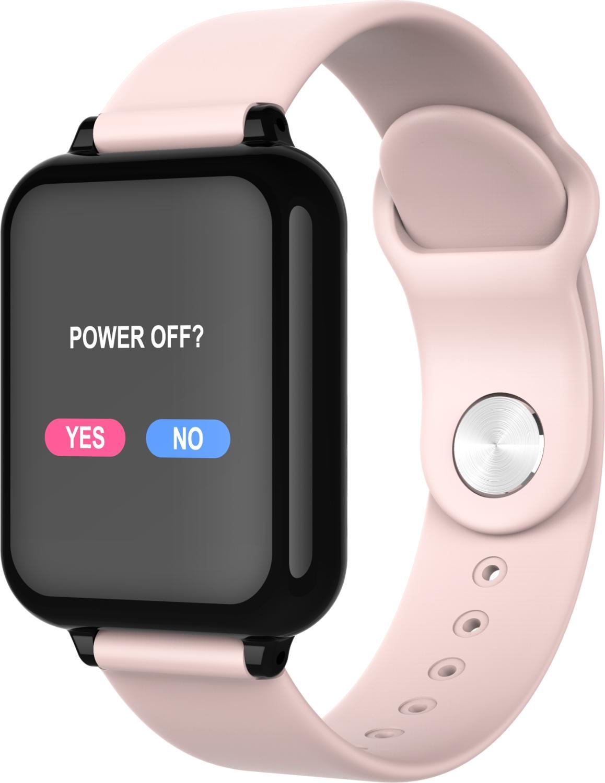B57 smart watch waterproof heart rate monitor blood pressure sport Women smartwatch women wearable watch men smart clock PK Q9(China)