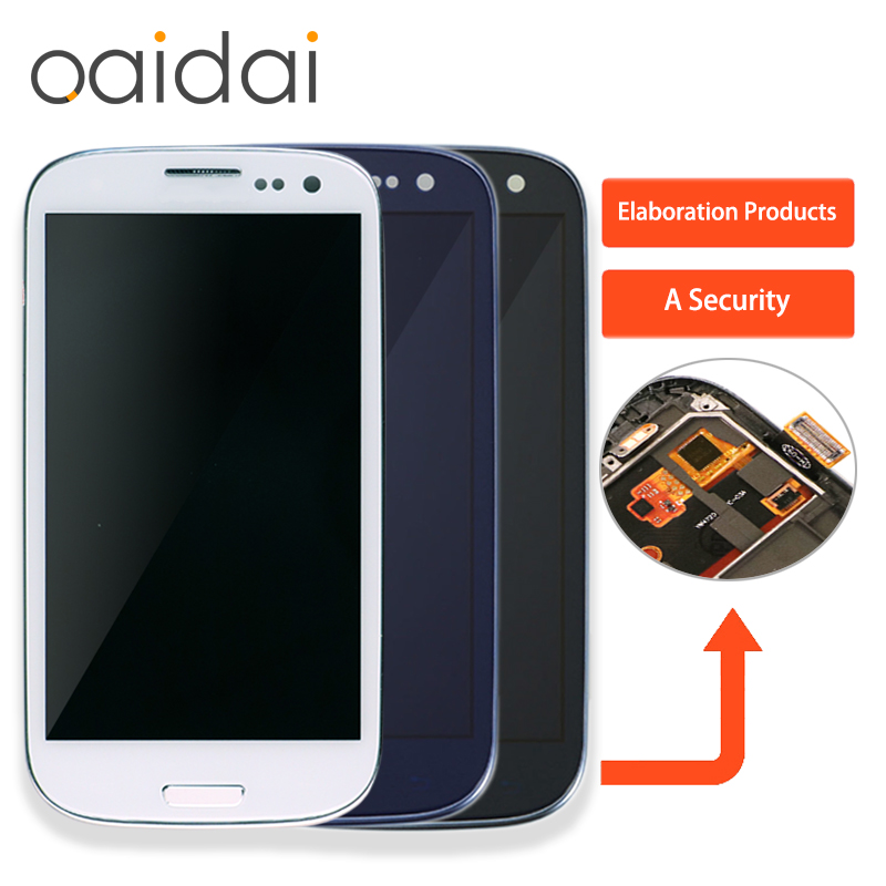 LCD Display Touch Screen Für Samsung Galaxy S3 Neo i9300i GT-i9300 i9301i i9308i Telefon Digitizer Montage Ersatz Teile