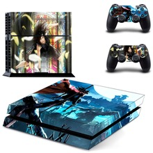 Anime Cute Girl Miku Tokisaki Kurumi PS4 Skin Sticker Decal Vinyl for Playstation 4 Console and 2 Controllers PS4 Skin Sticker