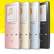 Ультратонкий Сенсорный Экран HIFI Без Потерь Беспроводной Bluetooth MP3 Плеер 8 ГБ IQQ X01 FM диктофон Аудио mp3 Плеер Usb mp3