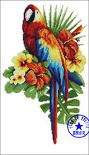 Needlework,DIY Cross Stitch,Sets For Embroidery kits,11CT&14CT,parrot