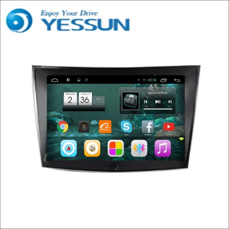 YESSUN pour Ssangyong Tivolan Android Navigation de voiture GPS HD écran tactile lecteur stéréo multimédia Audio vidéo Radio Navi