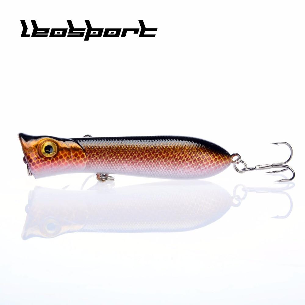 10pcs/lot Popper Wobbler Fishing Lure Fit Kosadaka Yo Zuri Rod Floating Crankbait Artificial Bait Peche Poper Carp Pike Set