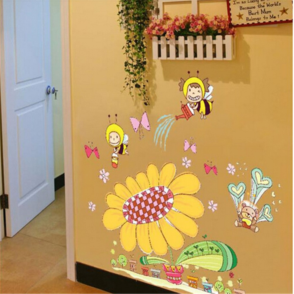 Bee Wall Stickers Choice Image - home design wall stickers