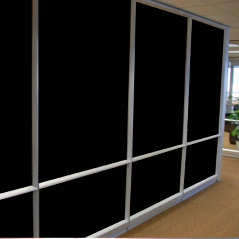 Privacy protect 2PLY 0% VLT Black Car Home Glass Window Tint  Film Vinyl Roll 1.52x20m(60inx66.67ft)