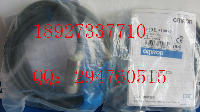 [ZOB] 100% new original OMRON Omron proximity switch E2E-X10MY2 2M factory outlets e2ec c1r5d1 e2ec c3d1 new and original omron proximity sensor proximity switch 12 24vdc 2m