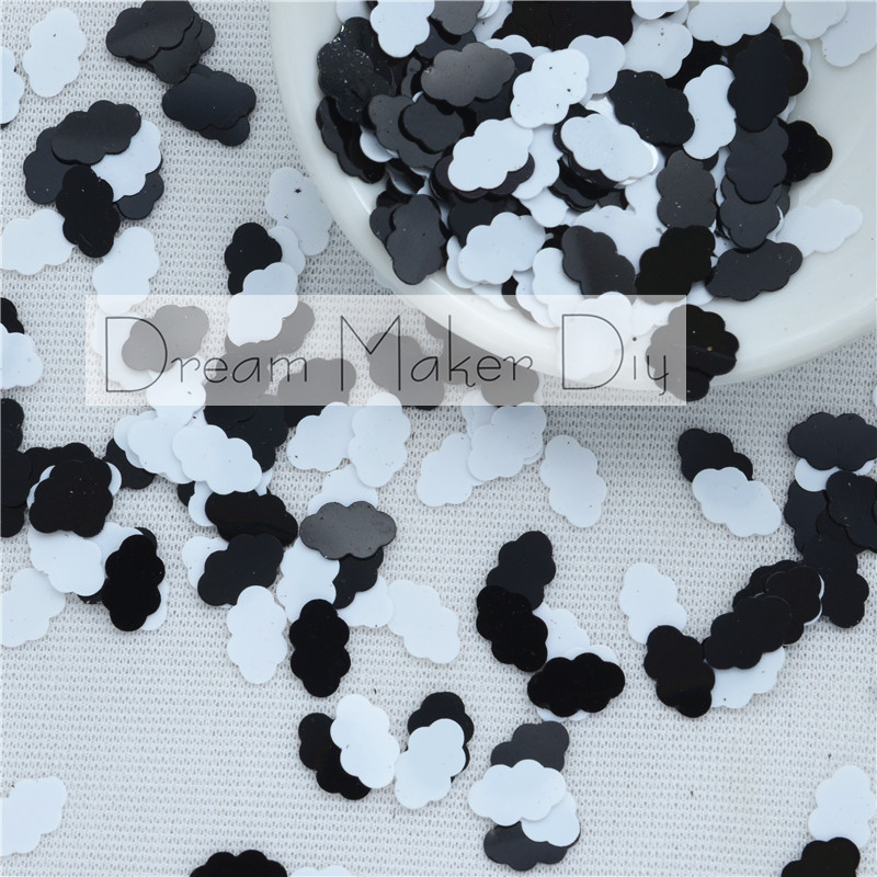 1000 Silver 7mm Round Paillette Cup Loose Sequins Sewing Wedding Art Craft