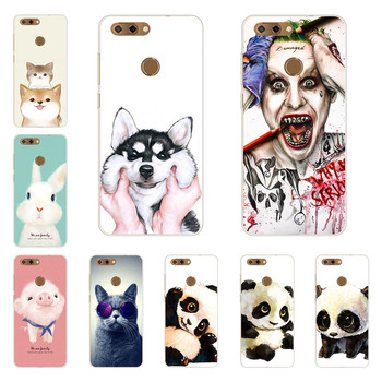 zte blade V9 case,Silicon Super panda Painting Soft TPU Back Cover for zte blade V9 protect Phone shell