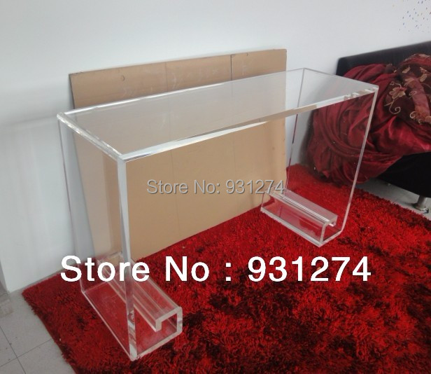 Acrylic Lucite Perspex Console Table In Console Tables From Furniture On  Aliexpress.com | Alibaba Group