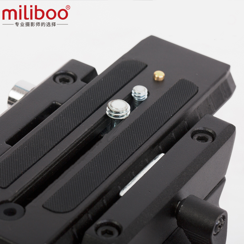 """Image 4 - miliboo MTT602A Professional Portable Aluminum Fluid Head Camera Tripod for Camcorder/DSLR Stand Video Tripod 76 """" Max Height-in Tripods from Consumer Electronics"""