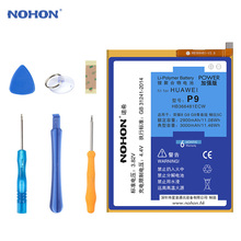 NOHON Battery For Huawei P9 G9 Lite Honor 6 7 8 5C 4X 7i P8 P8 Lite Enjoy 5S HB366481ECW Replacement Lithium Polymer Bateria cheap EMC MSDS NEMKO RoHS CE WEEE UL PCT FCC Compatible 2801mAh-3500mAh For Huawei P9 P8 P8 Lite Honor 6 7 Battery Fully Sealed Package