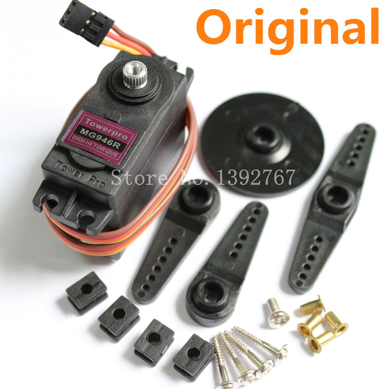 Original TowerPro MG946R Digital Metall Gear RC Servo Lenk 55g Torque 13Kg Upgrade MG945 For Car Airplane Heli