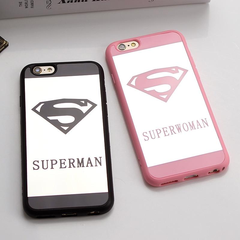 coque iphone 6 superman rose
