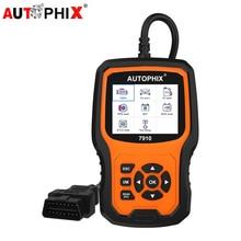 Autophix 7910 profesjonalne OBD2 skaner samochodowy dla E46 E90 E60 E39 DPF TPMS SAS Reset oleju pełny układ narzędzie diagnostyczne OBDII