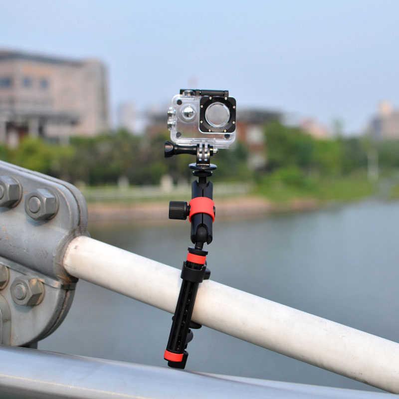 Универсальный Фиксированный кронштейн 360 градусов вращающийся адаптер крепление для Gopro Hero 7 6 5 4 Session Yi 4K Sjcam Eken аксессуары