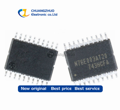 10pcs New Original   Mcu N76E003 N76E003At20 Compatible Substitution 8S003F3P6