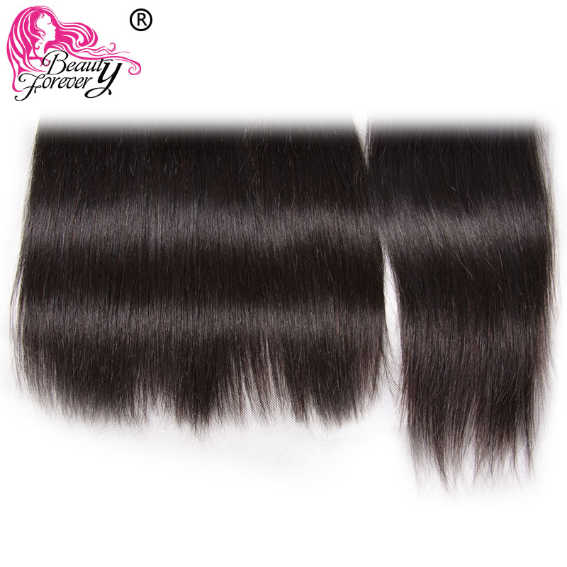 Beauty Forever Brazilian Straight Lace Closure Remy Human Hair Closures 4*4 Free Part Medium Brown Swiss Lace 10-20 inch