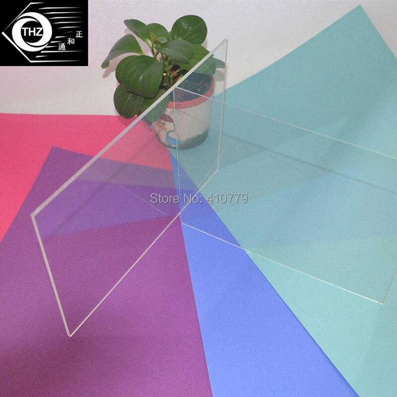ツ)_/¯Decoración para el hogar plástico acrílico claro Sábanas ...