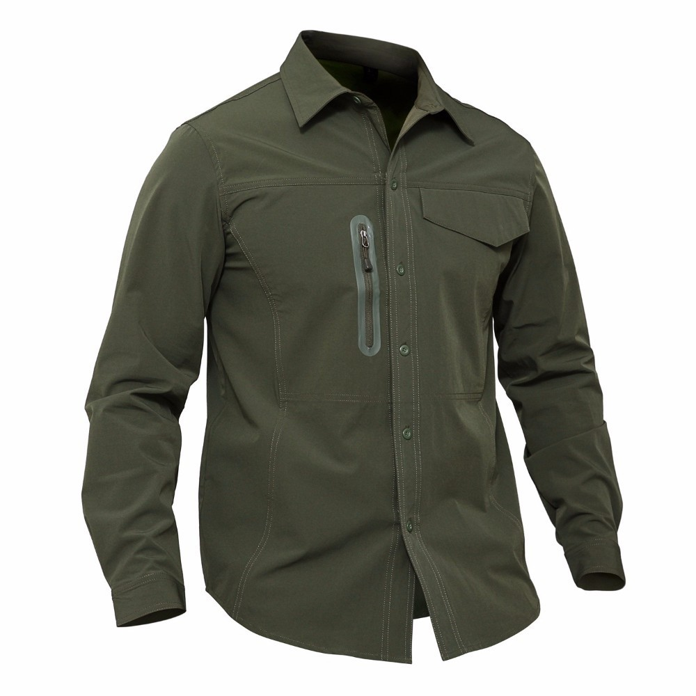 Men Tactical Combat Military Training Hunting Fishing Shirt Outdoor Camping Hiking Trekking Quick Drying Clothes Male Cargo Tops