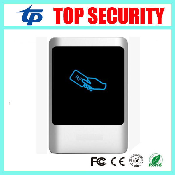 IP65 waterproof smart card access control weigand access control card reader RFID card 125KZ proximity card access control weigand reader door access control without software 125khz rfid card metal access control reader with 180 280kg magnetic lock