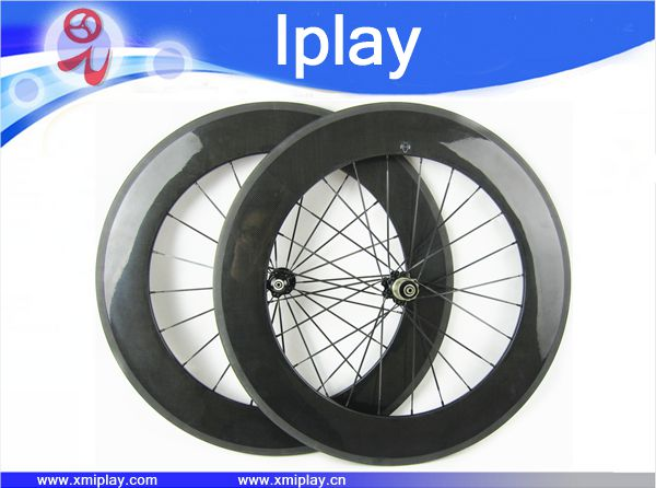 IPLAY Carbon Road Bike Wheels 88mm rim Clincher 700c wheels bike road 23mm Width with Hub NOVATEC 271/372 carbon cycle wheelset far sports carbon wheels 50mm clincher 23mm wide with novatec hub and sapim spokes novatec carbon wheels fsc50cm 23 700c