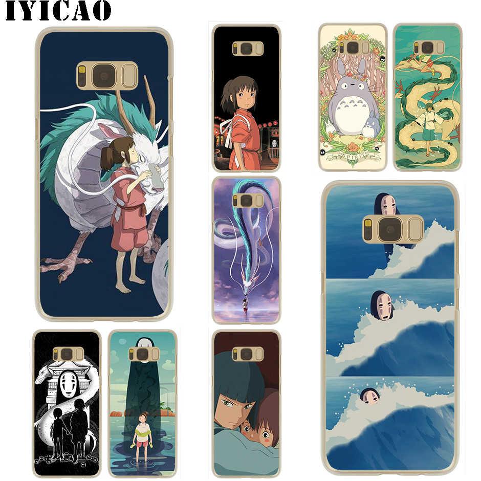 Studio Ghibli A Viagem de Chihiro Totoro dos desenhos animados Hard Case para Samsung Galaxy S10e S10 S9 S8 Plus S6 S7 Borda para samsung Nota 9 8