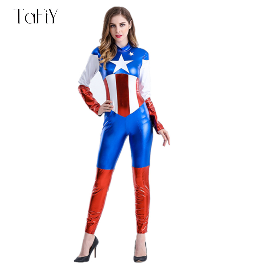 Popularne Sexy Captain America Costume Kupuj Tanie Sexy Captain