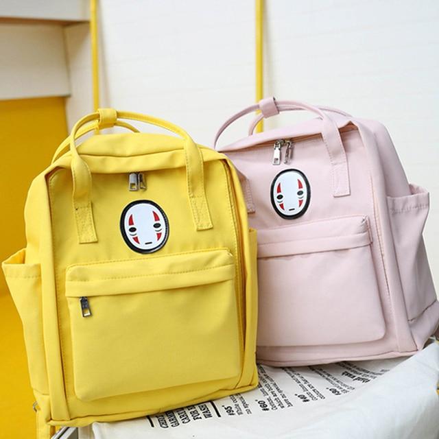 2020 New Nylon Printing School Bag For Teenagers Girls Student High Quality Women Travel Laptop School Backpacks Female Book Bag