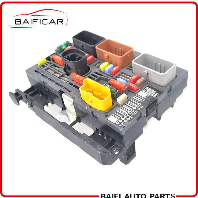 baificar genuine fuse box unit assembly under bonnet controller 9664705980  bsm r02 for peugeot 407 citroen c4 c5 picasso 80% new