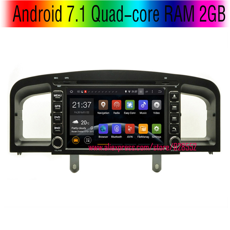 imágenes para Shinpping libre Android 7.1 Quad-core RAM 2 GB de Coches Reproductor de DVD Para Lifan 620/Solano 620 Con 3G/wifi GPS USB GPS BT RADIO