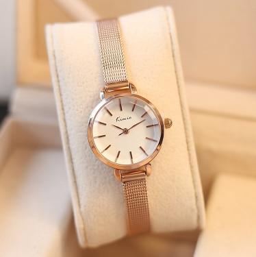 Brand KIMIO Luxury Fashion Women's Watches Casual Stainless Steel Women Bracelet Quartz Watch Relogio Feminino Watches For Women