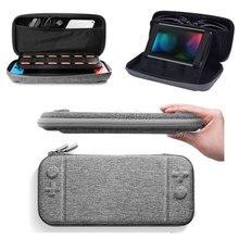 적합 콘솔 범프 디자인 eva 하드 쉘 케이스 닌텐도 스위치 내부 브래킷 기능 운반 가방 스위치 ns 액세서리