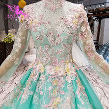AIJINGYU Imported Wedding Dresses White Long Gown African Train Dubai Train  South Africa Asian Gowns Wedding 976039917c36