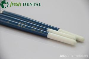 Image 3 - 3PCS Dental 8# Sable porcelain pen dental glaze on porcelain pen dental technician calligraphy brush porcelain pen SL512