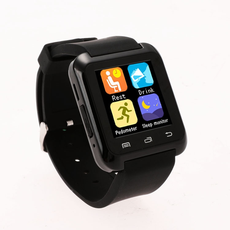 2016 New Bluetooth Smart Watch Fashion Casual Android Watch Digital Sport Wrist LED Watch Pair For