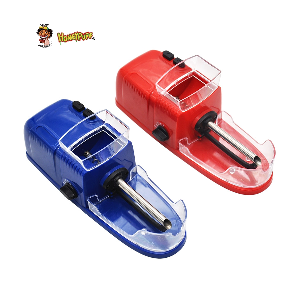 HONEYPUFF Electric Easy Automatic Cigarette Rolling Machine Tobacco Injector Maker Roller DIY Smoking Holder
